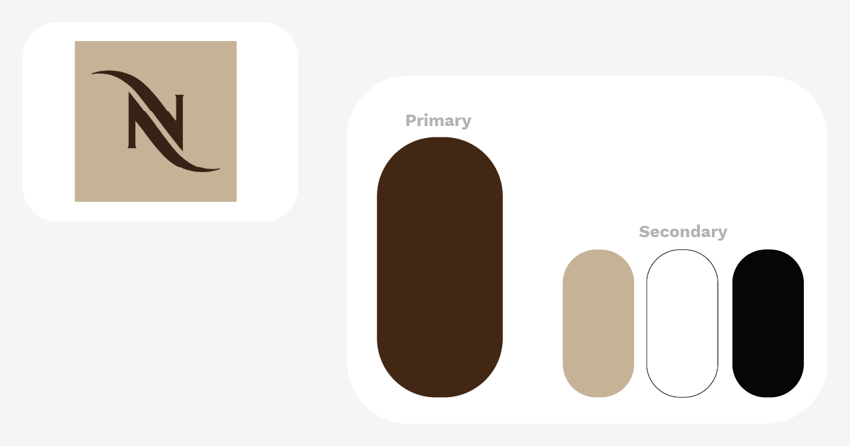Colori e Brand_nespresso